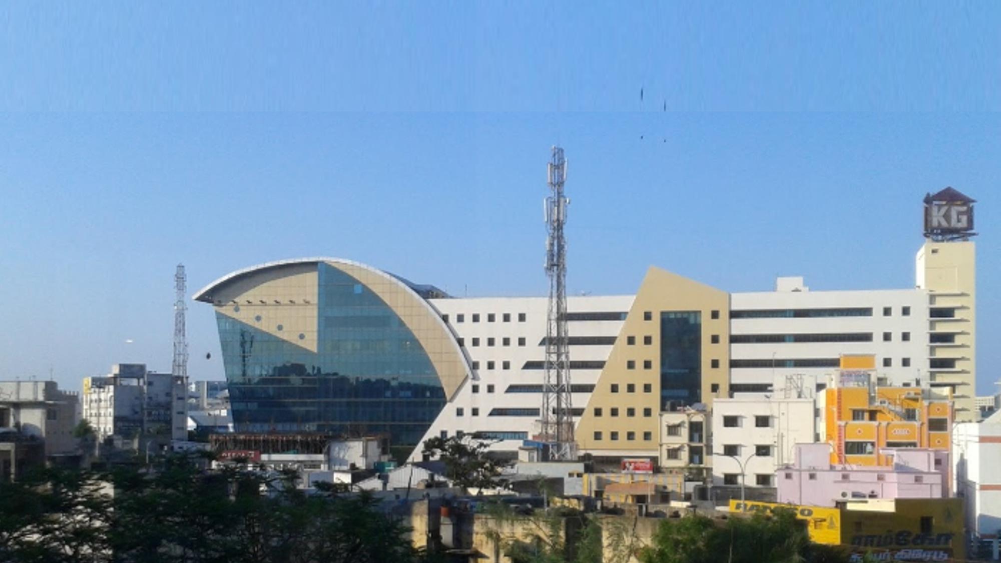 commercial property near perungudi - KG Builders