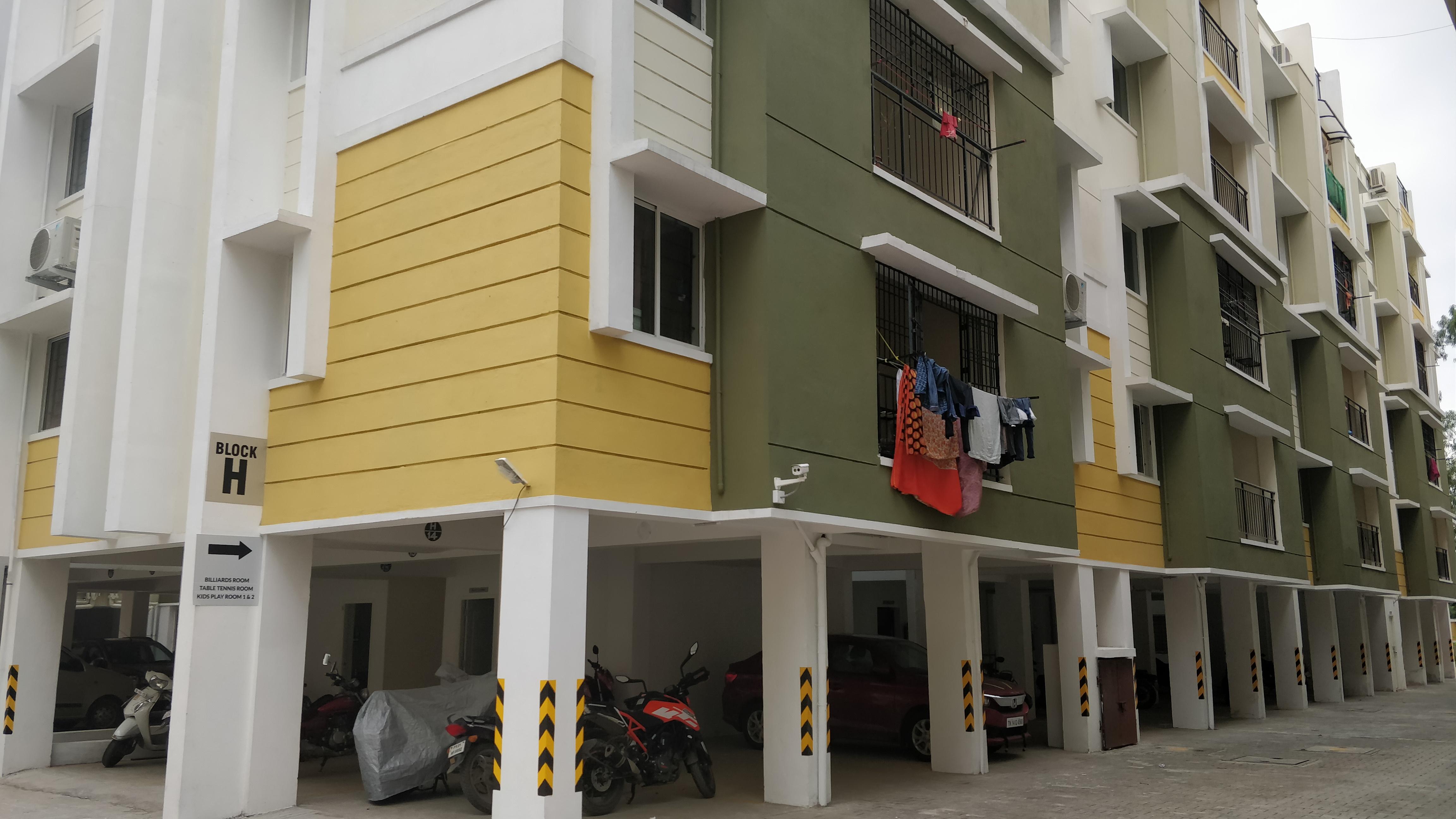 2 bhk apartments in omr - KG Builders